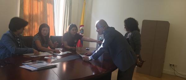 Inició la jornada electoral presidencial 2018 para la segunda vuelta en el Consulado de Colombia en Ámsterdam