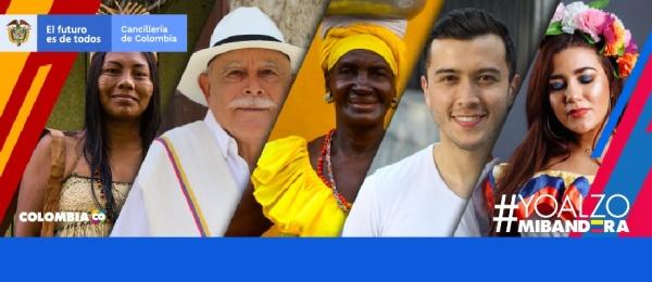 Los colombianos en el mundo entero celebramos el Día de la Independencia